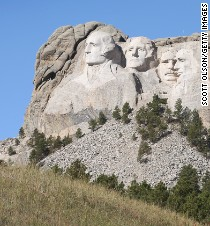 Mount rushmore national memorial fast facts for Interesting facts about mount rushmore