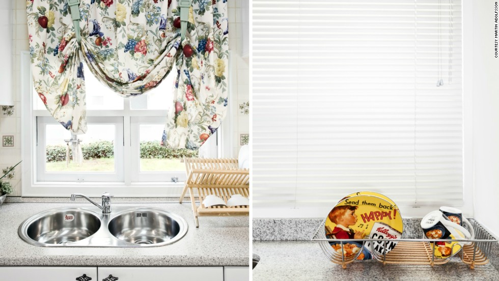 """The kitchens of suburban show homes in Bangkok, Thailand (left) and Mexico City, Mexico (right).<br /><br />""""I think the majority of people simply go with what they see in different outlets in terms of media or what the neighbors are purchasing or buying. I mean, we do this to some extent after all,"""" Adolfsson said.<br /><br />Nevertheless, """"it's really impossible to tell if you're in Shanghai or Sao Paulo or if you're in Bangalore or Mexico City,"""" when you visit these communities, he added."""