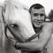 circus horse boy