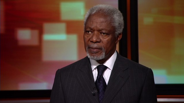 Annan: I wish Nigeria action came sooner