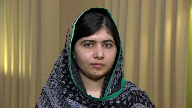 Malala speaks out on kidnapped girls