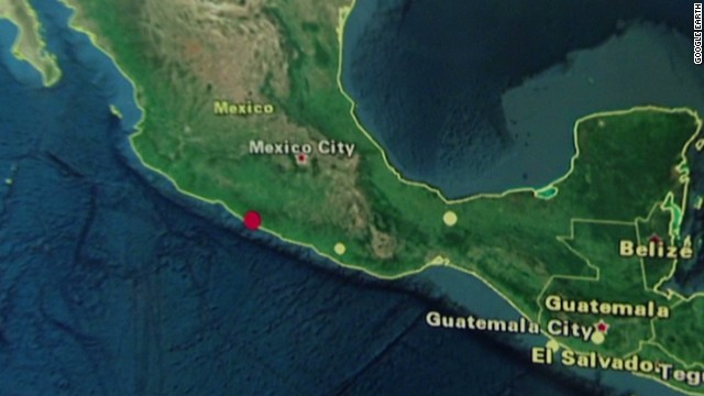 6.8 magnitude earthquake hits Mexico