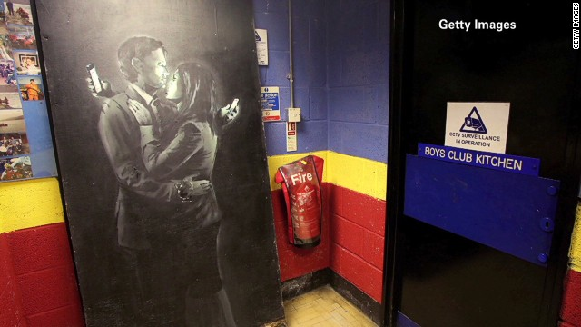 Banksy art gives new life to boys' club
