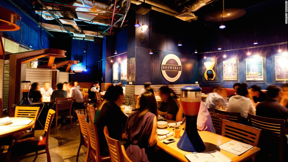 Ahead of its time upon its debut in 1997, the granddaddy of Singaporean microbrewing still offers one of the Lion City's best overall beer experiences. Each of Brewerkz's five signature brews are on tap along with up to seven seasonals and two guest beers.