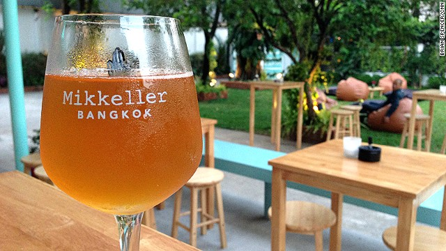 Mikkeller Bangkok is the brand's first bar in Asia.