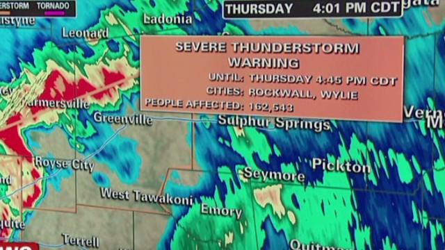 Dallas braces for severe weather