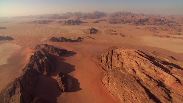 Bedouins thrive in 'God-like' desert