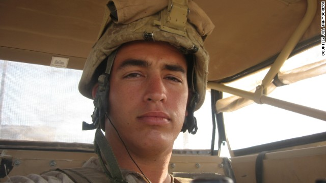 Sgt. Andrew Tahmooressi served with the Marines in Afghanistan.