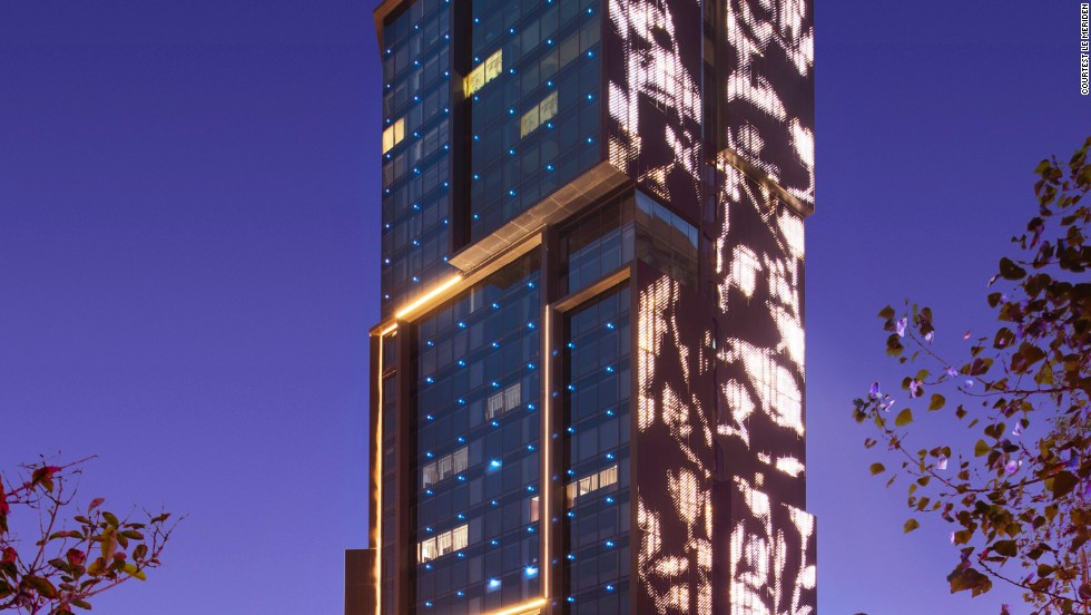"""<strong>Le Meridien Zhengzhou, Zhengzhou</strong><br /><strong>Architect: </strong>Neri & Hu, Shanghai<br /><strong>Status: </strong>Opened in 2013<br /><strong>Rooms</strong>: 350<br /><strong>Fast fact: </strong>This 25-story building's design revolves around the Chinese rose flower -- the local wildflower of Henan province, where it's based. The podium and central elevator was conceived as a cave, inspired by the nearby historic Longmen Grottoes.<a href=""""http://www.starwoodhotels.com/lemeridien/property/overview/index.html?propertyID=3248"""" target=""""_blank""""><em><br />Le Méridien Zhengzho<em></em></a>, Zhongzhou Avenue, Jinshui District, Zhengzhou, Henan; +86 371 5599 8888</em>"""
