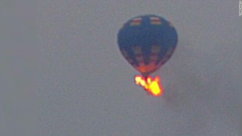 Notable hot air balloon crashes