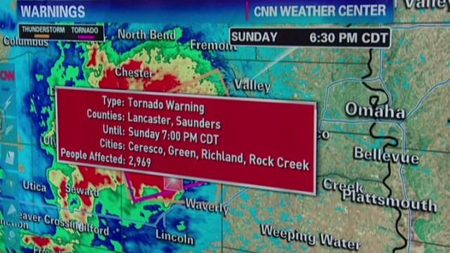Severe storms expected in Nebraska