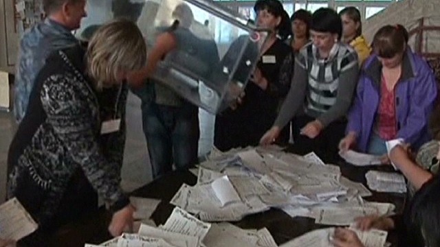 Chaotic referendums in eastern Ukraine