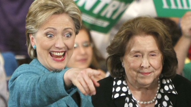 Hillary Clinton opens up about her mom