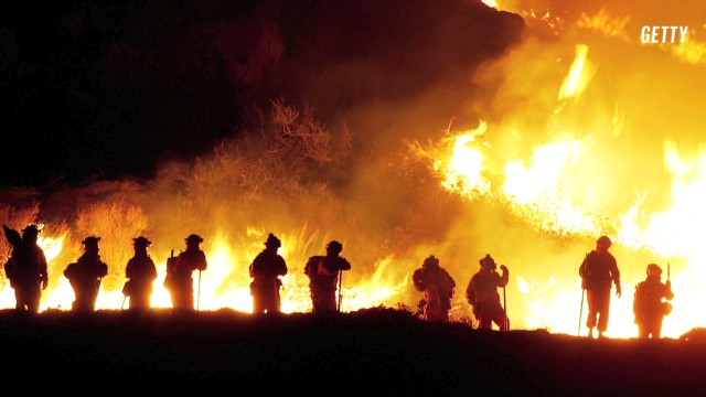 The worst wildfires in America