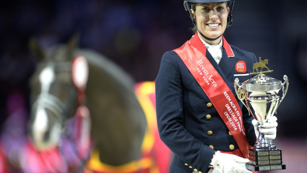 Dujardin broke her latest world record in Lyon in April but believes more milestones could tumble when she and Valegro compete.