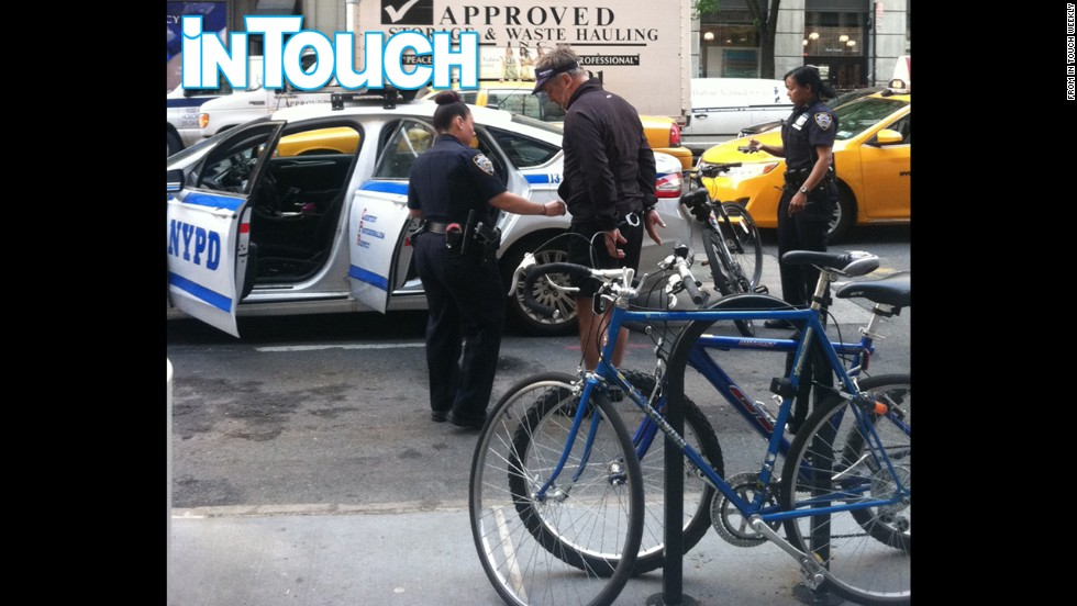 "Alec Baldwin is taken into custody by New York police after allegedly riding his bike the wrong way on Fifth Avenue on Tuesday, May 13. It's not the first time the ""30 Rock"" star has found his personal matters aired in public."
