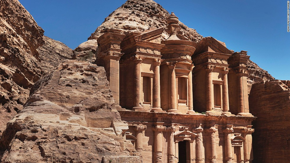 """Al Deir, a structure also known as """"The Monastery"""", seems particularly well-suited to meet this theory. The study's leader says his findings might prove the structure was used as a temple, and not simply as burial tombs."""