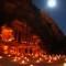 petra jordan illuminated at night