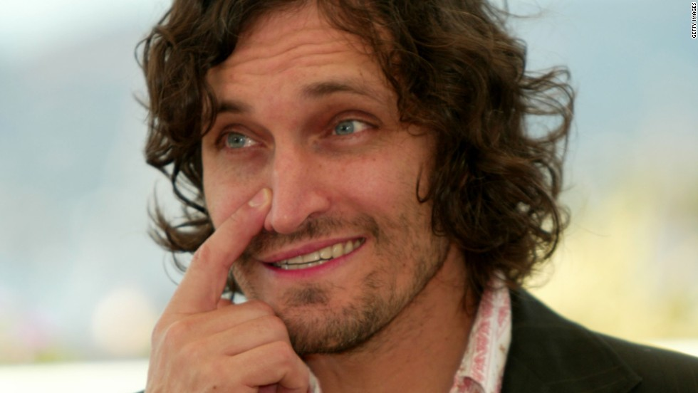 "Vincent Gallo at Cannes promoting ""The Brown Bunny"" at Cannes. He embarked on a vicious war of words with Roger Ebert when the late critic described the film as the worst in the history of festival."