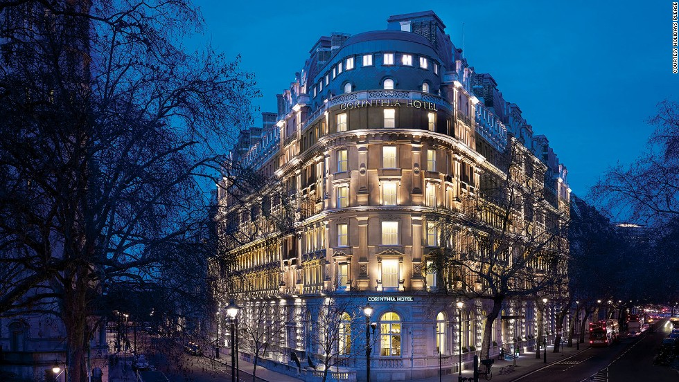 Drinking tourists will spend the first three nights in London in the five-star Corinthia Hotel and hang out at the Playboy Club.