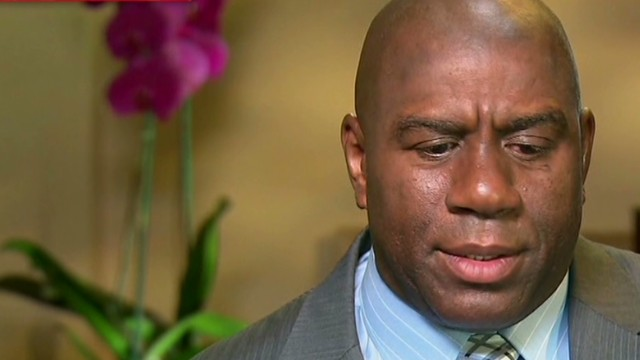 Magic Johnson: Sterling 'is delusional'