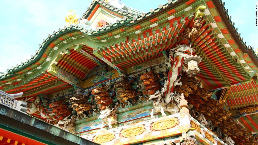 It's the details that make Koyonomon Gate at Ikuchi Island's Kosanji Temple so photogenic.