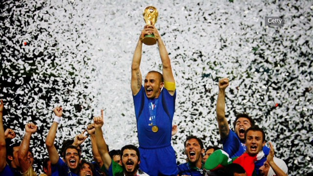 Cannavaro: Italy's World Cup hero