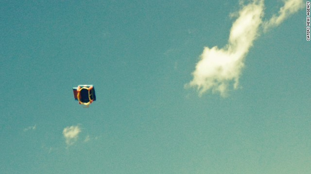 Kids hurt as bounce house soars into sky