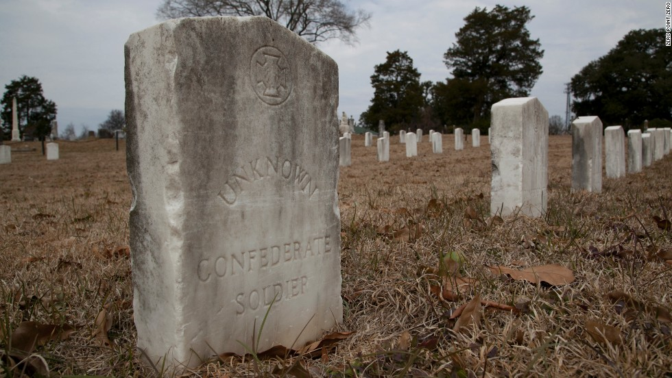 Unknown Confederate soldiers are among the dead buried at the Greenwood Cemetery in Jackson.