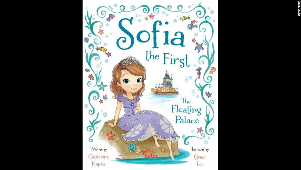 "<strong>Illustrator of the year:</strong> Grace Lee, ""Sofia the First: The Floating Palace"""