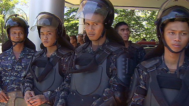 Tensions escalate in Thailand