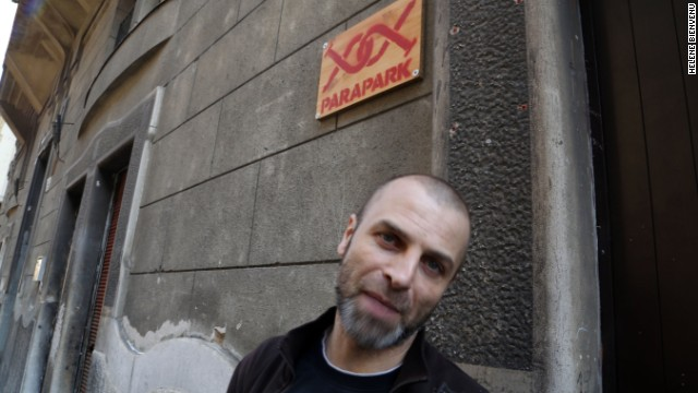 Hard cellar: Attila Gyurkovics, Parapark's creator.
