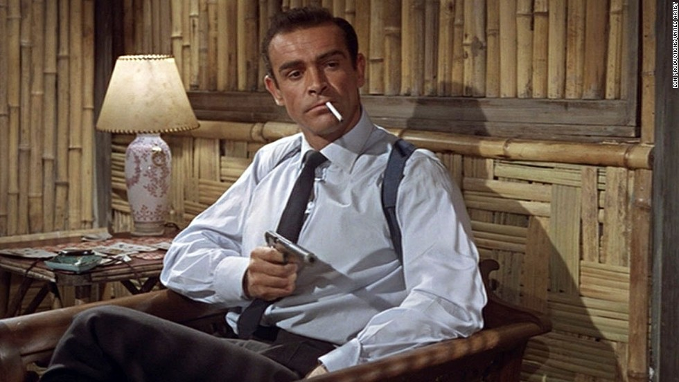 "Before Daniel Craig or Pierce Brosnan, there was Sean Connery, who starred in the first James Bond film, ""Dr. No,"" in 1962. With the most recent Bond film released in 2012 (""Skyfall""), <a href=""http://www.cnn.com/SPECIALS/2012/bond"">the James Bond series</a> is the longest running film series of all time."