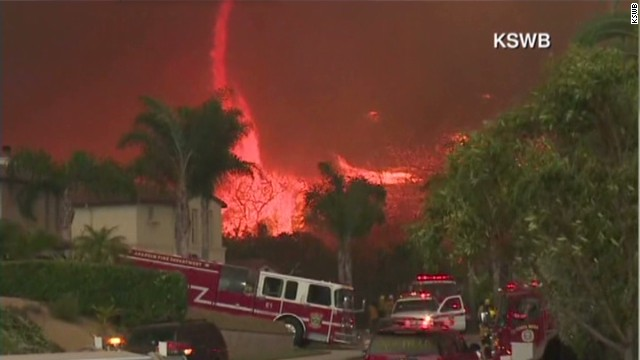 Wildfires rage on in Southern California
