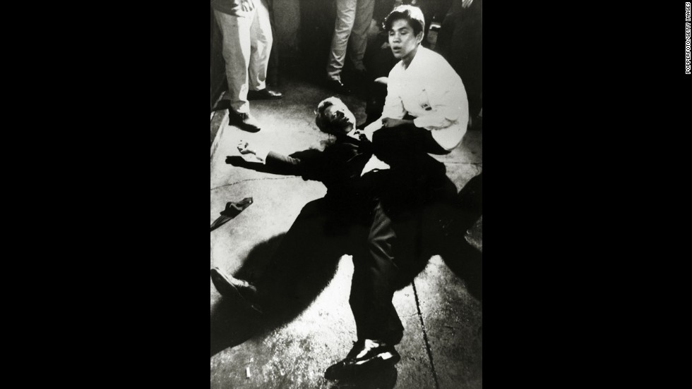 U.S. Sen. Robert F. Kennedy, the brother of former President John F. Kennedy, was shot shortly after midnight on June 5, 1968, in Los Angeles. Sirhan Sirhan was convicted of assassinating Kennedy and wounding five other people inside the kitchen service pantry of the former Ambassador Hotel.