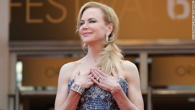 Caption:Australian actress Nicole Kidman poses as she arrives for the Opening Ceremony and the screening of her film 'Grace of Monaco' at the 67th edition of the Cannes Film Festival in Cannes, southern France, on May 14, 2014. AFP PHOTO / LOIC VENANCE (Photo credit should read LOIC VENANCE/AFP/Getty Images)