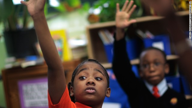 A new bill supports the growth in charter schools, like Harlem Success Academy, a free, public charter school in New York.