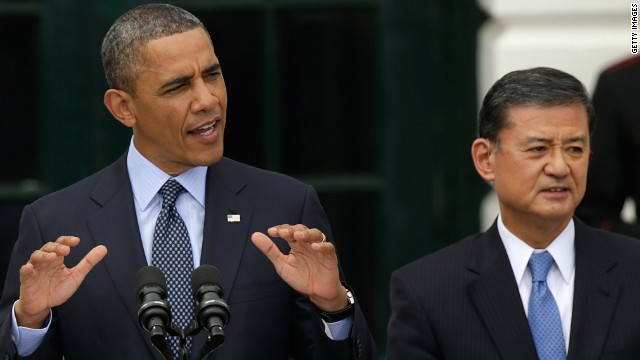 White House stands by Shinseki