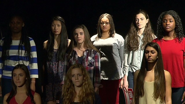 Teen actors take on human trafficking