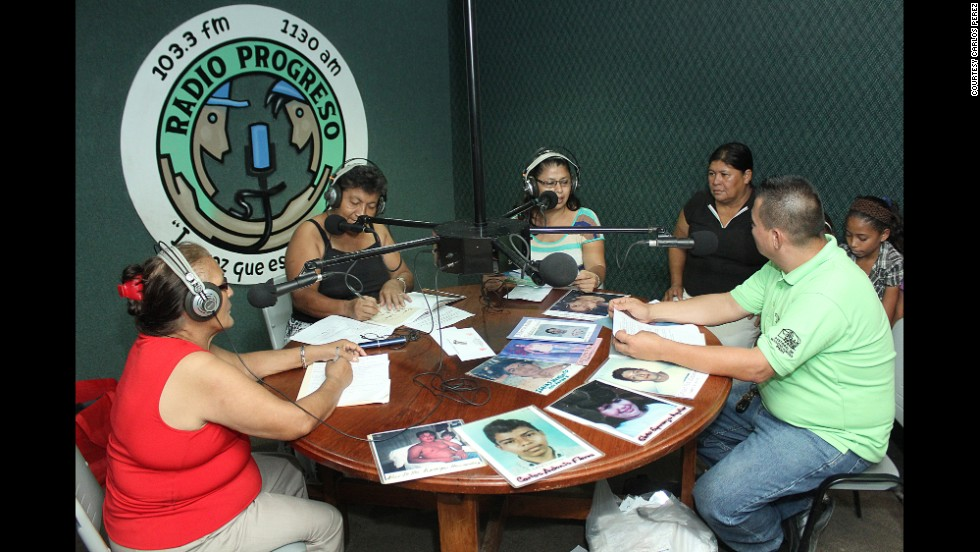 "The difficult search for missing migrants is only part of COFAMICRO's mission.   In a weekly radio program in Honduras called ""Opening Borders,"" volunteers from the organization also warn people about the dangers they could face while crossing the Mexico-U.S. border and traveling through the desert."