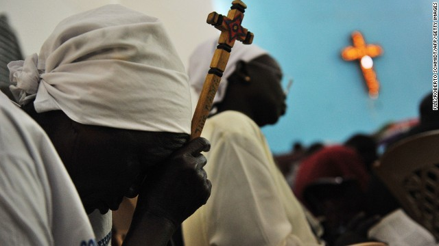 Sudanese Christians worship in fear