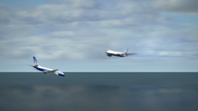 Two planes nearly collide over Pacific