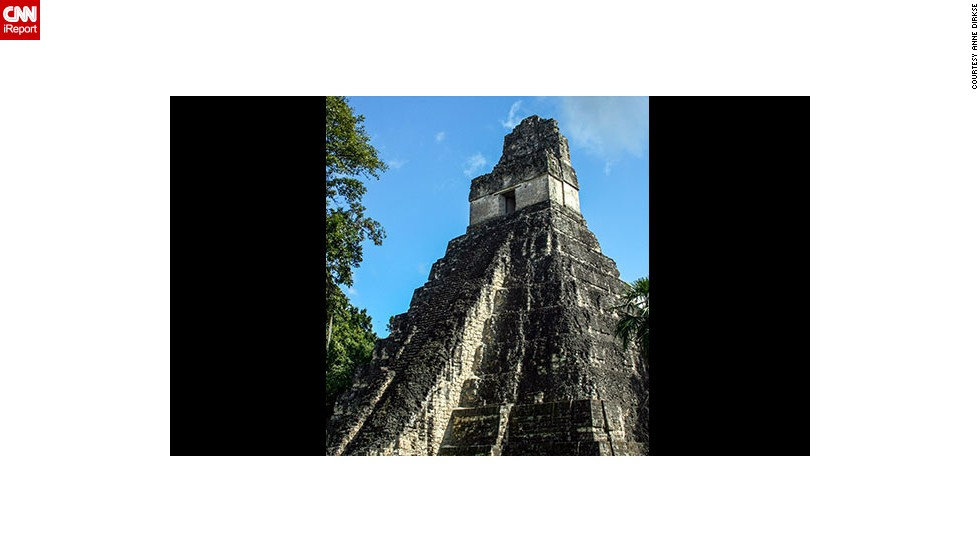 "You can see one of the largest archaeological sites of pre-Columbian Mayan ruins at <a href=""http://whc.unesco.org/en/list/64"" target=""_blank"">Tikal National Park</a> in Guatemala.  ""Climbing to the top of several temples is permitted and gives fantastic views of the other temples peeking over the canopy,"" <a href=""http://ireport.cnn.com/docs/DOC-1129774"">Dirkse</a> said. ""Be sure to check out pictures of the park when it was first rediscovered after being overgrown by jungle for centuries."""