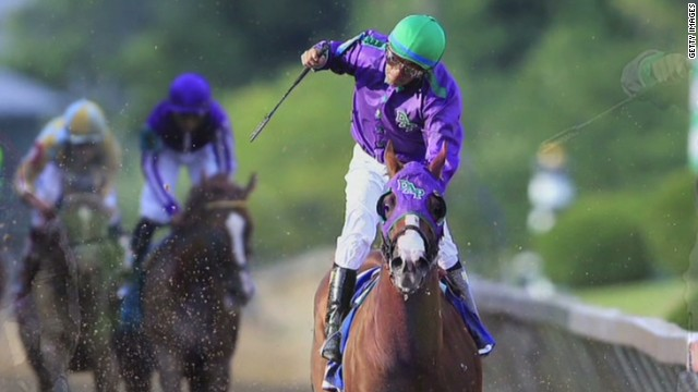 California Chrome wins the Preakness