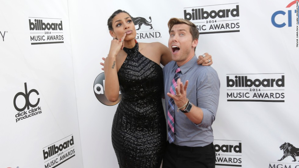 Jordin Sparks and Lance Bass