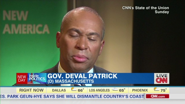 On Hillary 2016, Gov. Patrick: 'I worry'