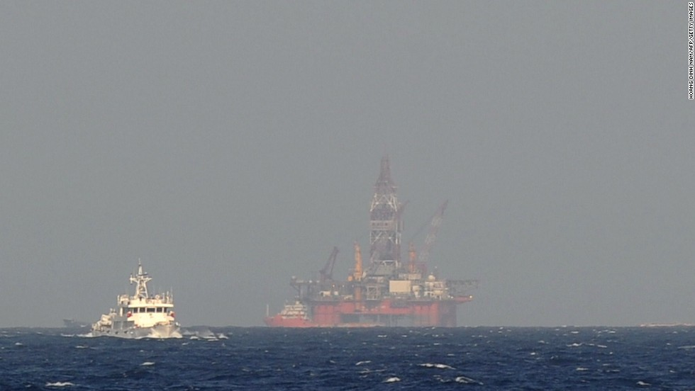 Vietnam has objected to China's deployment of an oil rig in contested waters in the South China Sea.