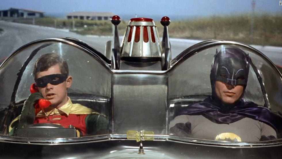 "The ""Batman"" TV series debuted in 1966, starring Adam West as the Caped Crusader and Burt Ward as his sidekick, Robin. The show aired for only three seasons, but it was a pop culture sensation at the time and a cult classic for future generations. There was also a feature film in 1966."