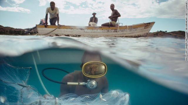 Lake Malawi is home to more species of fish than any other lake in the world.
