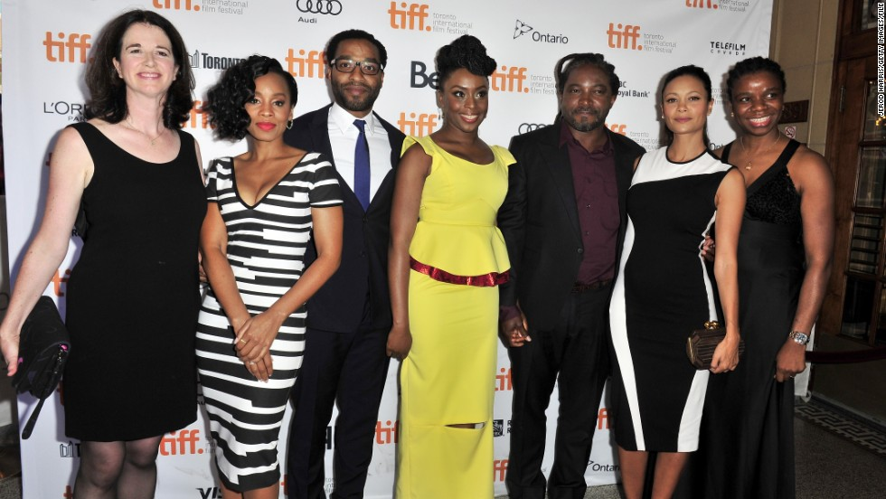 """Half of a Yellow Sun"" premiered during the 2013 Toronto International Film Festival on September 8, 2013 in Toronto, Canada."
